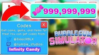*2019* ALL NEW BUBBLE GUM SIMULATOR CODES | UPDATE 9 (CANDY LAND) | ROBLOX