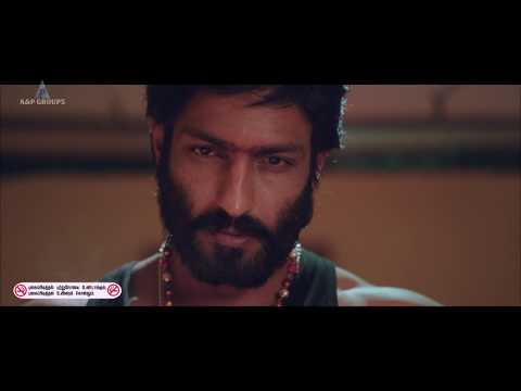 Nenjil thunivirunthal Tamil Movie | Villain Harish Uthaman action sequence
