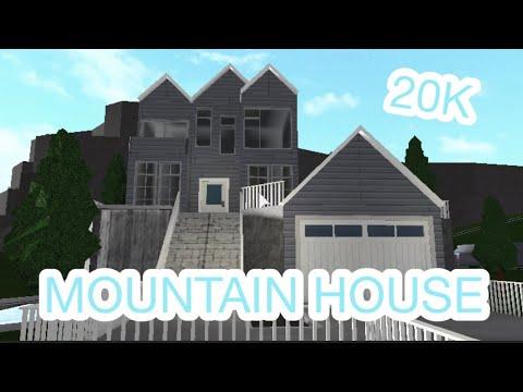 Oceanic Mountain House 20k Bloxburg Speed Build Youtube
