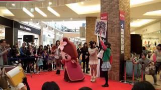 2013年3月23日、引退直前の柳ヶ瀬商店街非公式キャラの「やなな...