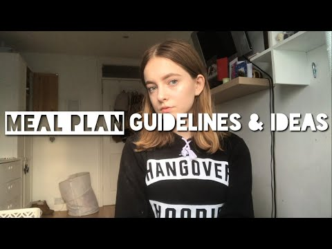 Meal Plan Guidelines & Ideas 📝 | Emily's Recovery