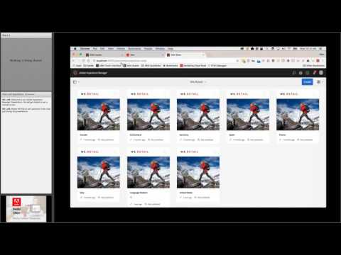 Introduction to Adobe Experience Manager - 5/10/2017 Webinar