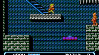 Moon Crystal NES Прохождение