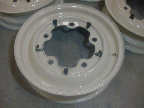 How To Repair Classic VW Bug 5 Lug Rim Clips, By lastchanceautorestore.com