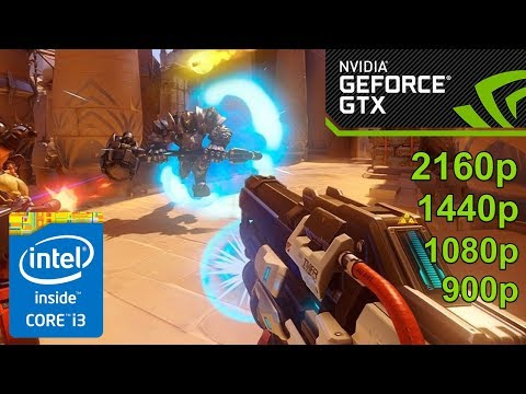 Overwatch GamePlay [PC] in NVIDIA GeForce GTX 1050 | 4K ( 3840x2160 ) NEW!