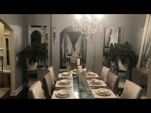 DINING ROOM DECORATING IDEAS|NEW MIRRORS!