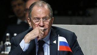 """Lavrov: """"El G8 es un club informal, nadie puede dar membresía ni expulsar a nadie"""""""