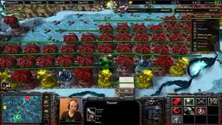 Warcraft 3 Farmer vs Hunters 0.22 - FIRST WIN !
