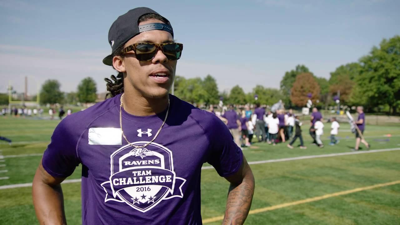 Lamar Jackson does Ray Lewis dance, thanks Ravens organization ...
