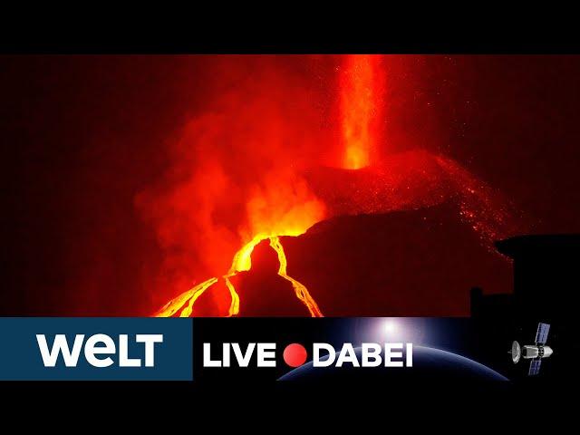 LA PALMA: Kein Ende absehbar - Vulkan in den Cumbre Vieja seit über einem Monat aktiv