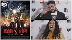 Iron Sky - The Coming Race Premiere Interviews:  Timo Vuorensola & Lara Rossi