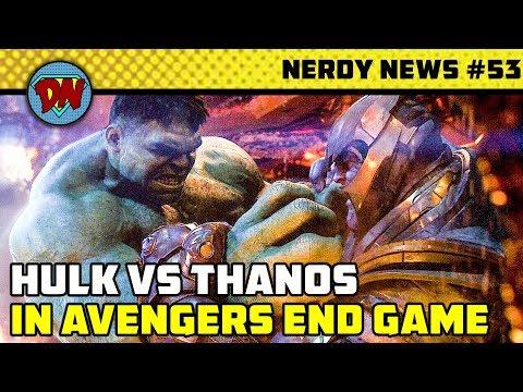 End Game Trailer is Fake, Disney Fox Deal, Captain Marvel Box Office, Taskmaster   Nerdy News #53