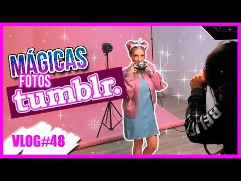 LAS MEJORES FOTOS TUMBLR con MI CABELLO ROSA!  *VLOGMAS #10* 10 Dic 2017