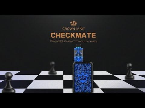 UWELL Crown 4(IV) Kit   Self-Cleaning Technology   BestVapeGears