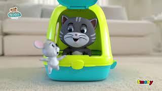 Domček pre mačičku Cat's House Veterinary Smoby