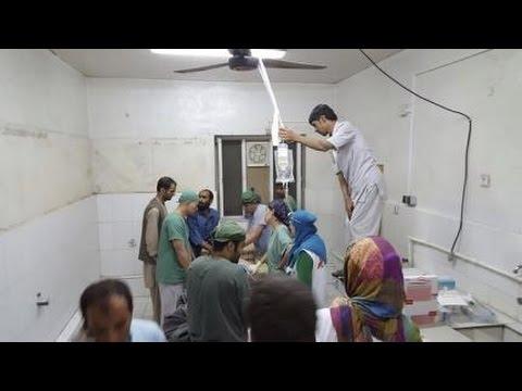 22 dead at Afghan hospital after U S  air strike in Kunduz