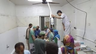 22 dead at Afghan hospital after U S  air strike in Kunduz