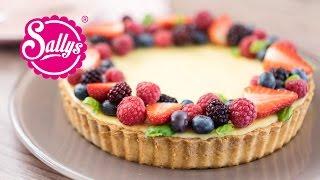 Früchtetarte mit Zitronencreme / Cheesecake