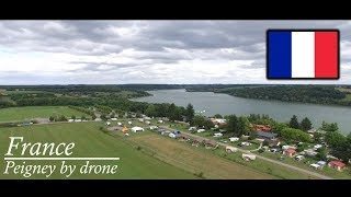 Peigney By Drone at Camping Le lac de la liez {4K} | Drone4Fun |