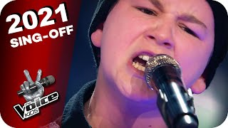 Rage Against The Macнine - Killing In The Name (Rockzone)   The Voice Kids 2021   Sing-Offs