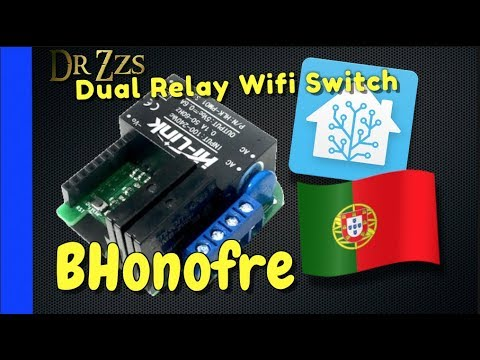 Dual Relay Mini Switch W/ MQTT Ready Firmware And It's From Portugal!