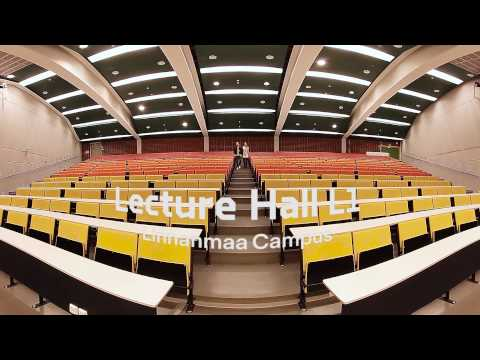 University of Oulu 360° campus tour - full video