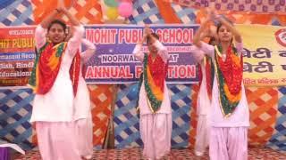 #swagat geet~ #welcome song) ( #dance #video ) बच्चो द्वारा स्वागत गीत  पर प्रस्तुति || swagat dance
