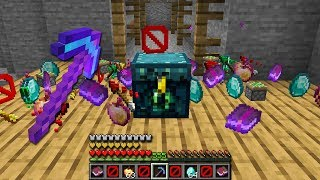 Minecraft UHC but everything drops RANDOM ITEMS... i'm too lucky....