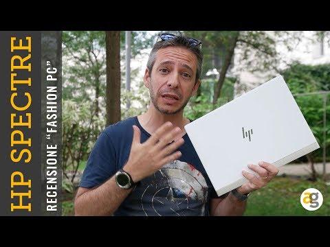 """Recensione HP SPECTRE 13 il """"FASHION PC"""""""