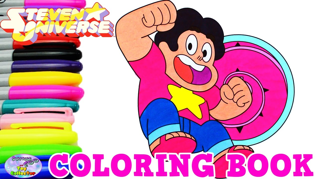 Steven Universe Coloring Book Episode Show Surprise Egg And Toy Collector Setc