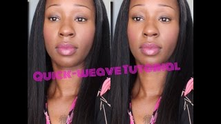 Quick Weave Tutorial w/Leave-out (Start to Finish)