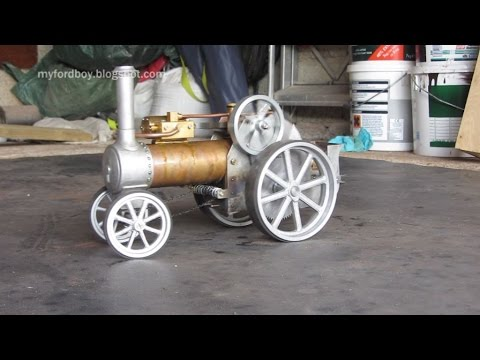 Simple Steam The Myfordboy Traction Engine Part 18 Engine in Steam