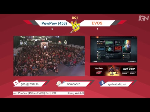 PewPew (458) vs EVOS Cub | Bo1 | IGC | @Throwbacker