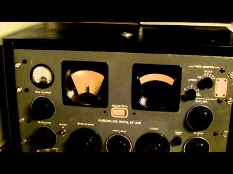 Pirate Radio caroline International 6290khz Hammarlund SP600