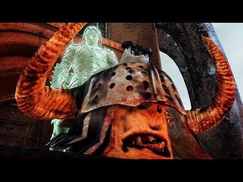 SHADOW OF WAR - HIGH Level 1000 Grim Overlord Dark Citadel 595 Boss Battle