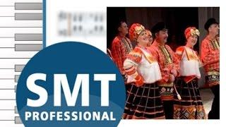 Как играть на аккордеоне Матаня   How to play on accordion   SMT Pro