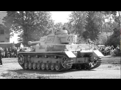"""Panzer rollen in Afrika vor"" PzKpfw IV Afrikakorps in Munster [HD]"