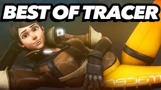 Top 50 Tracer Plays - Overwatch Montage