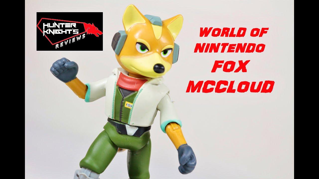 Review Star Fox 64 Fox Mcloud World Of Nintendo Figure By Jakks