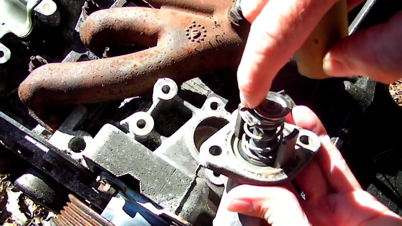 Saturn S Series Thermostat Replacement 2 Youtube