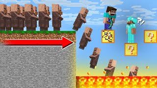 HOW to PASS THIS LUCKY BLOCK PARKOUR? in Minecraft Noob vs Pro