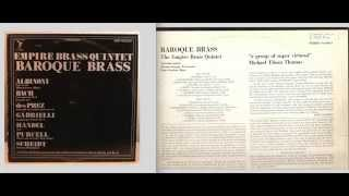 Empire Brass:  Baroque Brass- Side A