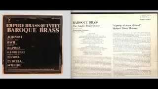 Empire Brass:  Baroque Brass- Side A