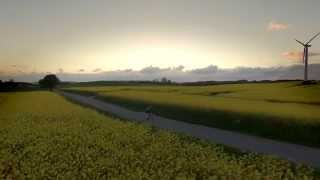 Cycling the yellow fields - DJI Phantom 3 pro and GH4