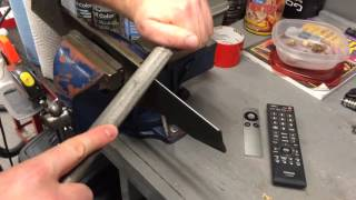 How to Sharpen your John Deere lawn tractor blades