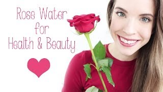 ROSE WATER: HEALTH & BEAUTY BENEFITS + USES! Thumbnail