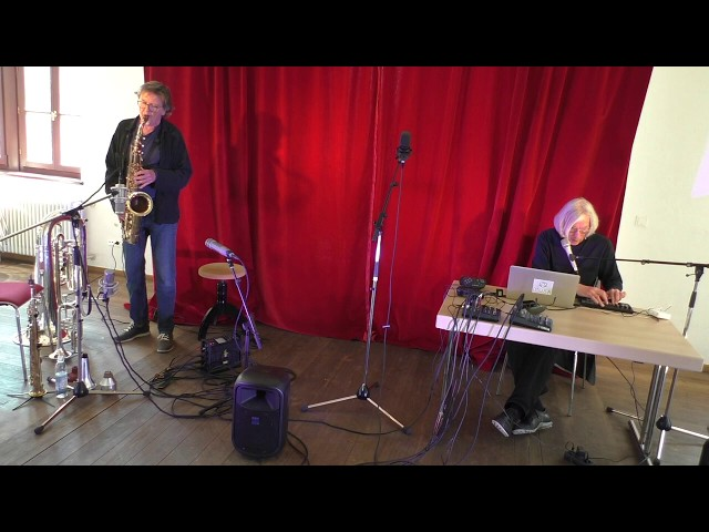 Udo Schindler und Jaap Blonk in Herrsching - Improvisation 3