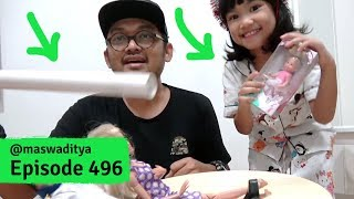 Dikirimin Pipa Air dan Boneka Balerina! Review Artworks Acin 5 thn - Part 2