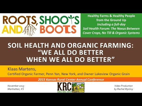 SOIL HEALTH AND ORGANIC FARMING - Klaus Martens