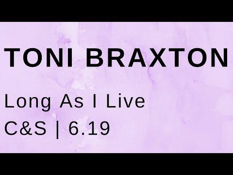 Toni Braxton Long As I Live (C&S)